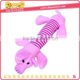 T0C07 Pig Duck Elephant Super Soft Short Plush Pet Sound Toy,dog chew toy,Dog Toy for sale
