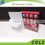 2016 hot sell	moving 3d wholesale of lenticular 3d pictures mac sticker