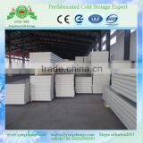 Metal Panel Material and Polyurethane Sandwich Panels,flat or waves or ribbed Type PU sandwich panel