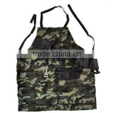 Custom Camouflage Apron With Built In Beer Holsters And Bottle Opener For Men