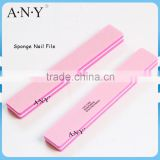 Nail Care Polishing Wide Pink Sanding Sponge Nail File 100/180 Grit                                                                         Quality Choice