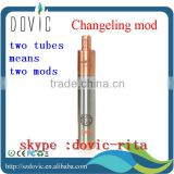 Innovation !!! 2 tubes means 2 mods changeling mod clone fit with copper plume veil /tobh v2.5 changeling mod