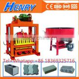 Sale QTJ4-40 simple block making machine for developing countries small factory