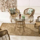 2015 Rattan Bamboo Coffee Table Set - Outdoor Rattan Dining Set Furniture