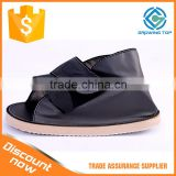 Open Toe Orthopedic Plaster Cast Shoes for Fractures