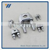 16mm Stainless Steel Wire Rope D Shape Shackles Fasteners H D G Wire Rope Clips Type Drop Forged