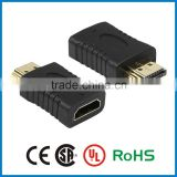 APBG Wholesale Gold /nickel plated hdmi connector male to male /male to female /female to female adapter