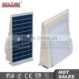 wall mounted decorative solar sensor outdoor IP65 wall led light 5W                                                                         Quality Choice