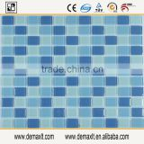 demax blue glass mosaic tile for project colored river mother