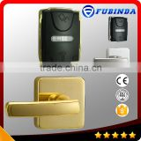 low price card security electric handle safe digital hotel smart keyless rfid locker lock
