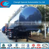 Chemical liquied truck chemical tanker semi-trailer for HCl chemical fuel tank truck chemical fuel tank truck semitrailer