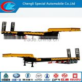 20ft semi trailer 2 axle 40ft double axle semi trailer large capaicty link howo tractor heads semi traielr