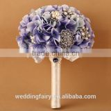 LATEST ARRIVAL purple and gray artificial flower bouquet
