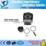 52CC gasoline brush cutter spare parts Cylinder and Piston sets