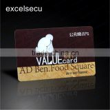 ESECU Wholesale offset printing custom made PVC Top-up Prepaid Smart Card for canteen dining