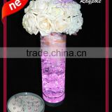 Unique battery operated wedding table centerpiece light base led uplighter vase light