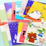 Cartoon minchrome exercise book,students love