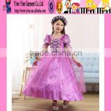 2015 Europe market hottest sale Christmas Princess dress lovely baby girl original princess sofia dress wholesale