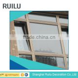 waterproofing automatic decorative grilles double glass aluminium fixed window