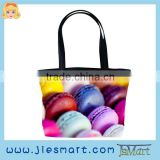 JSMART hand-bag Macaron advertising promotional custom printing bag