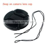 Solid Plastic 58mm Centre Pinch Camera Lens Cap