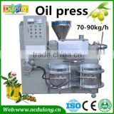 Hot sale DL-ZYJ70D automatic big capacity oil press machine oil exraction machine with filter