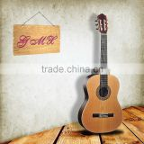cheaper wholesale and OEM High quality Top Solid wood classical guitar