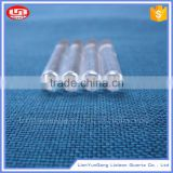 High purity clear fused quartz rod