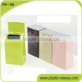 Stading new fashion flip home use Professional unique trash cans square