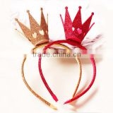 new glitter pageant crowns prince crowns for kids baby hair headband