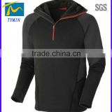 Man's slim fit apparel soft shell adult age group hoody sportswear outdoor tracksuit apparel