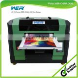 a3 WER E2000UV 1 year warranty wer-china 2016 hot-sale a3 uv printer for cell phone case printing machine