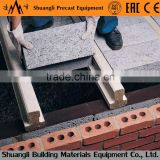 Double hollow core slab making machine wall panel making machine double T beam making machine