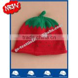 IN STOCK new product china manufacturer OEM CUSTOM LOGO winter cotton baby warm apple Watermelon hat and cap