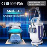 Fat Freezing&Body slimming machine with 2 handles at the same time work