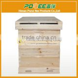 2017 Top quality 3 Layer Langstroth Size Bee Hive Box With Metal Roof