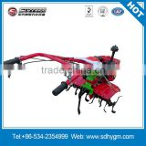 HUA YUN Agricultural diesel engine hand push mini power tiller