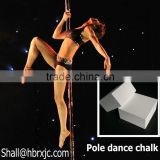 magnesium carbonate pure gym chalk block for pole dance