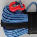 12 Strands  UHMWPE  Rope Winch Rope Blue