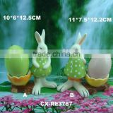 easter ceramic egg holder chicken-Ceramic Rabbit