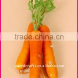 HOT SELLING-2011 New ARRIVAL Design Most Popular Natural artificial carrot vegetable