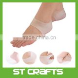 Hot Sale Heel Socks Cracked Foot Skin Care Protector Silicone Moisturizing Gel
