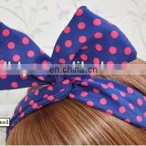 8cm fashion elastic hair band for young girls