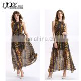 Bohemian /womens boho clothing maxi dresses long dresses printing boho dress summer beach