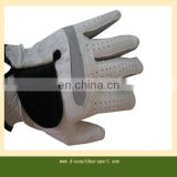 left haned anti-slip mens leather golf gloves