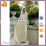 custom made polyester and spandex women abaya collection,plain simple muslim abaya designs