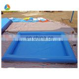 Popular children water paddle boat inflatable pool