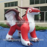 Hot sale giant inflatable zenith dragon,PVC inflatable pool toy
