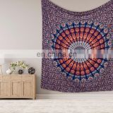 Indian 2017 New Design Mandala Tapestry Wall Hanging Queen Bedspread Wall Decor Bedsheet