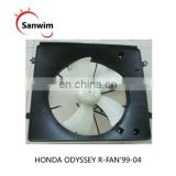 Engine Cooling Fan Assembly fits R-FAN'99-04 Hon-da O-dyssey